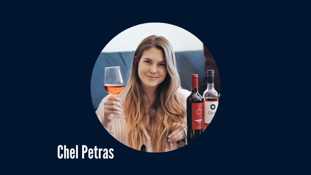 Image of Chel Petras Road To Wine Expert Favorite and Instagram Influencer
